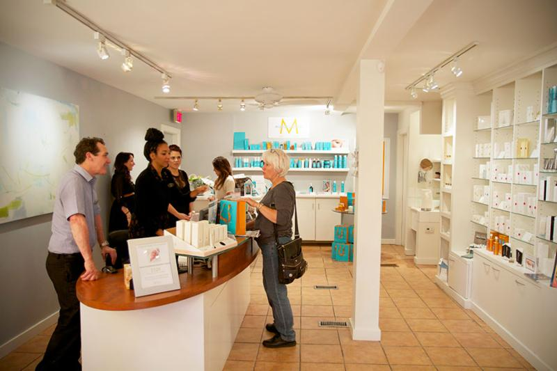 Be greeted by friendly staff and our owner, Paul, in the bright open space off West 4th Avenue. Treatment rooms are upstairs and down!