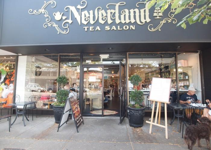 Neverland tea salon vancouver bc 3066 broadway w for A salon vancouver