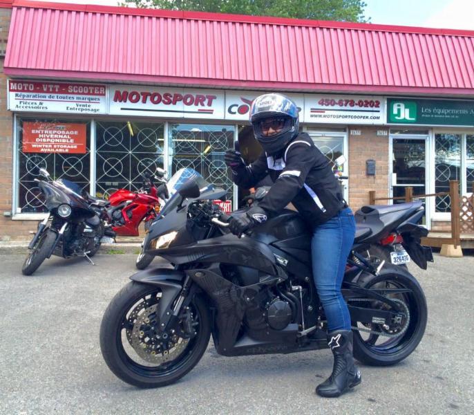 photo Moto Sport Cooper