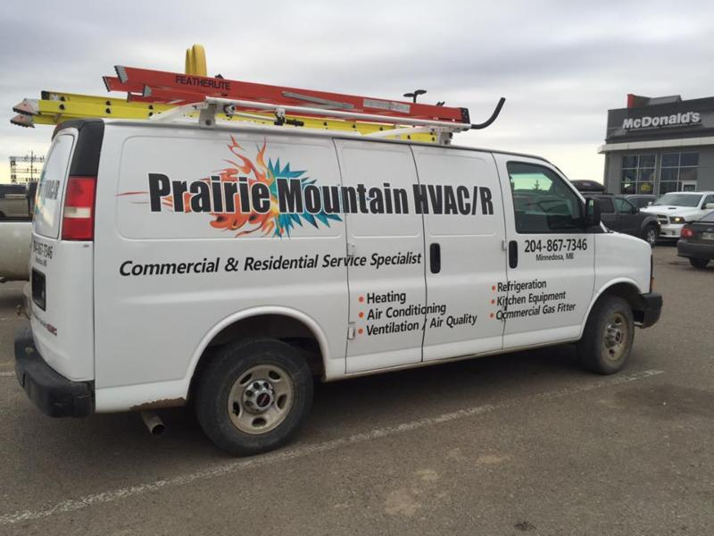 Prairie Mountain Hvac R Minnedosa Mb Po Box 2234