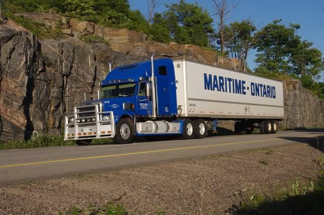 Maritime ontario freight lines limited spruce lake nb for 95 mural street richmond hill ontario