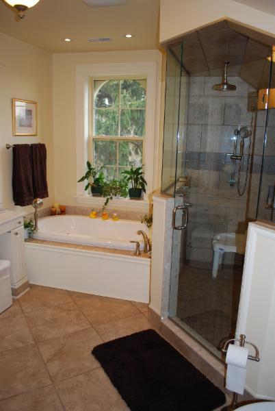 Custom Shower & Heated Flooring