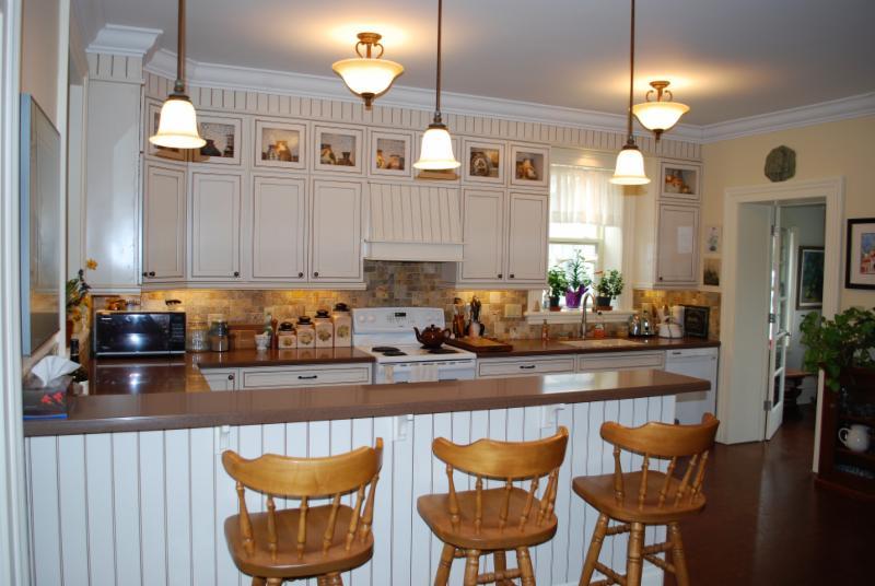 Custom Kitchen Renovation with cork flooring