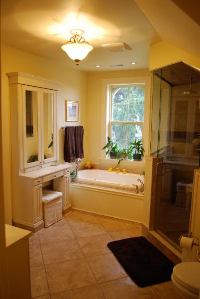 Bathroom Complete Renovations with custom shower