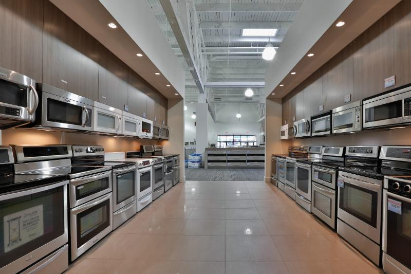 A great selection of electric ranges, gas ranges and over-the-range microwaves.