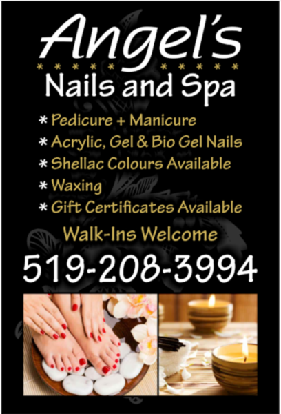 Angels Nails And Spa Kitchener On 8b 720 Westmount Rd