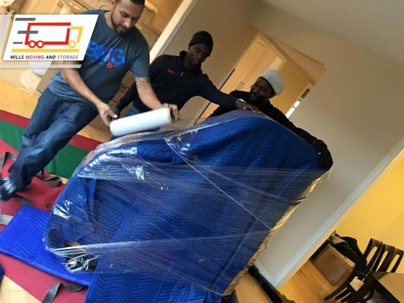 Mills Moving      Packing Experts