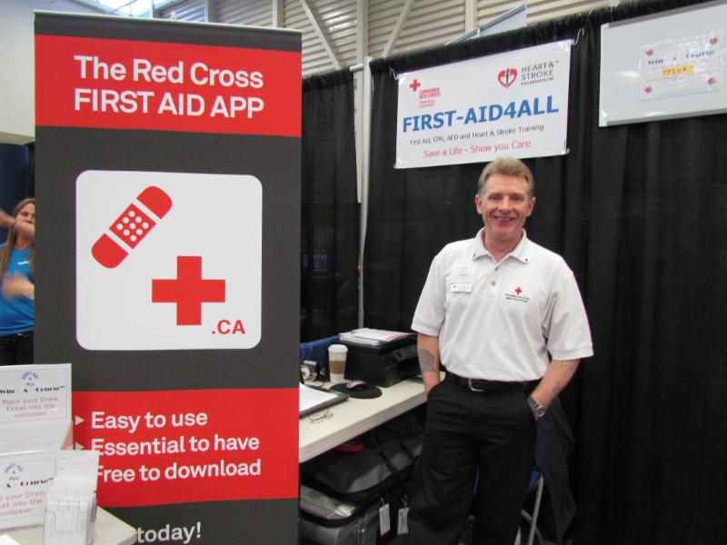 Tony Magill - Director of Company during the Airdrie Home & Lifestyle Show.
