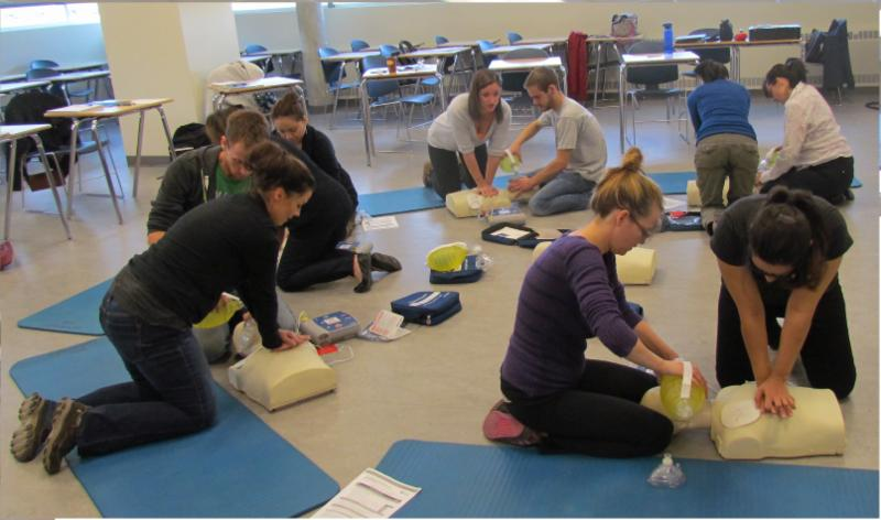 CPR-AED HCP Training