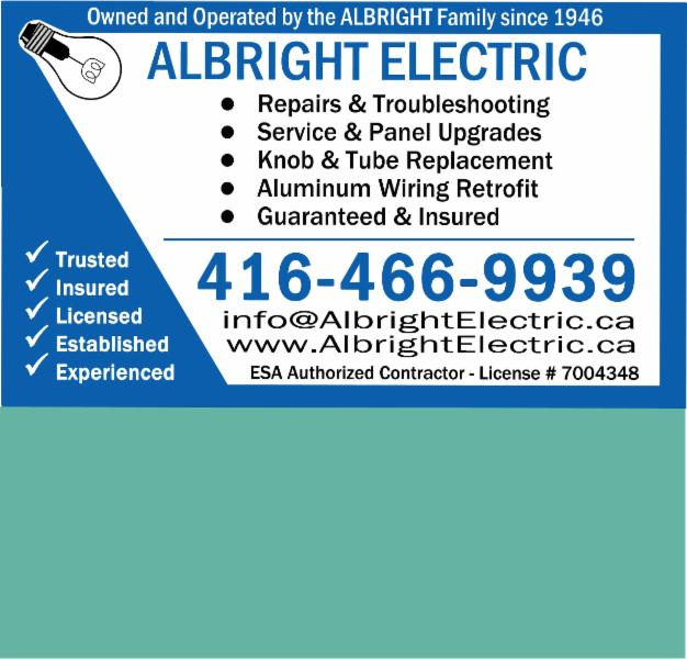photo Albright Electric Co Limited