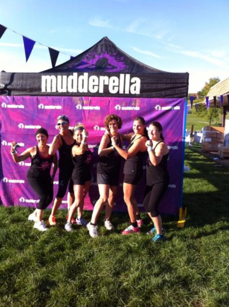 Our team of Dental Hygienists are ready to take on any challenge including Mudderella.