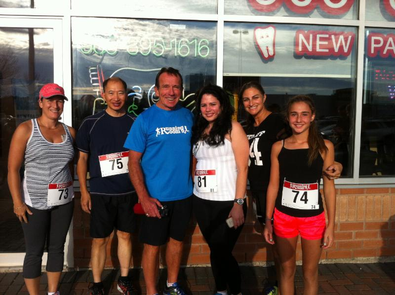 Dr. Kin, and the staff of Newmarket Dental Care welcome our new neighbours at The Running Room
