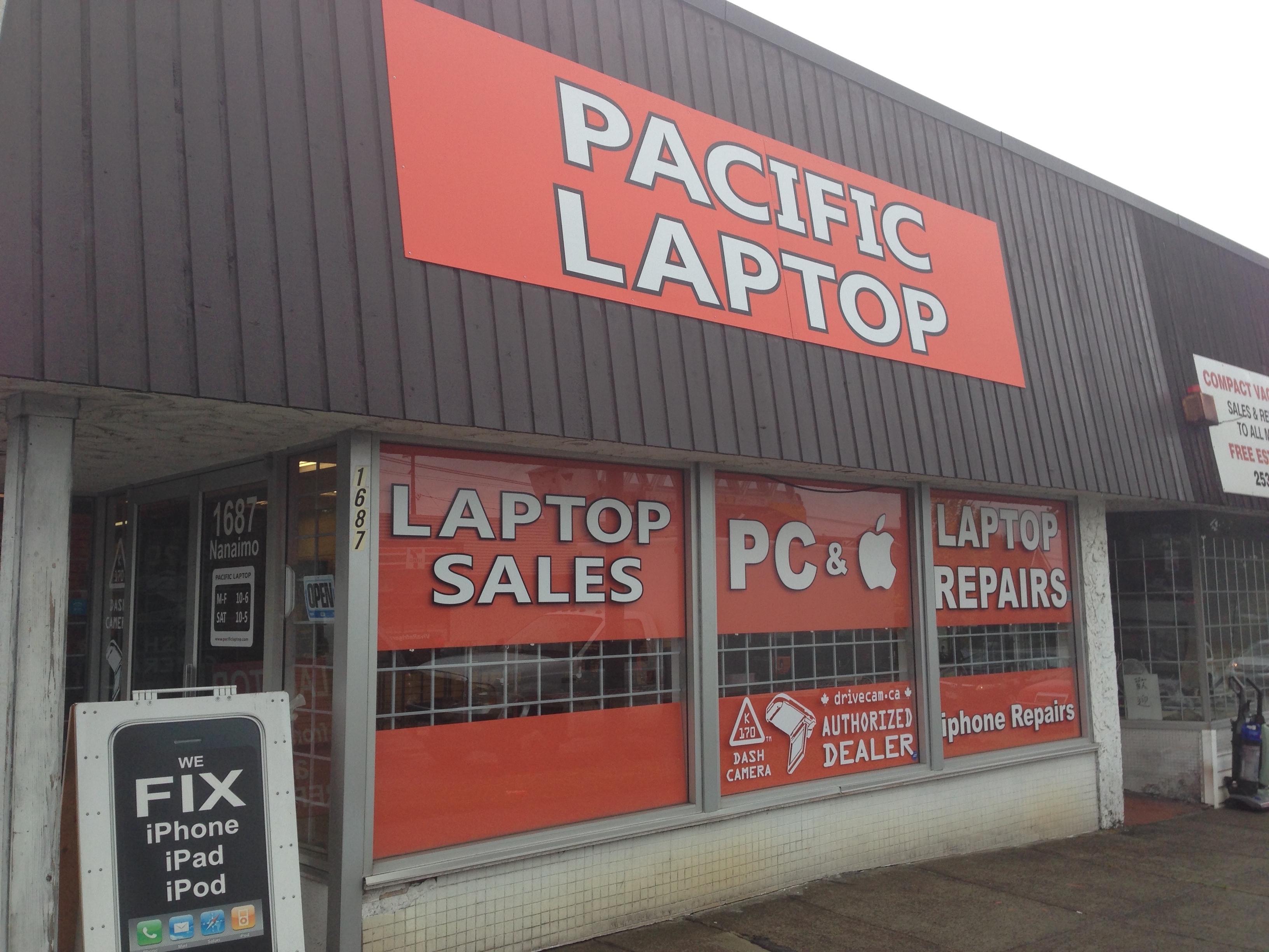 Pacific Laptop Inc - Service de téléphones cellulaires et sans-fil - 6045685778