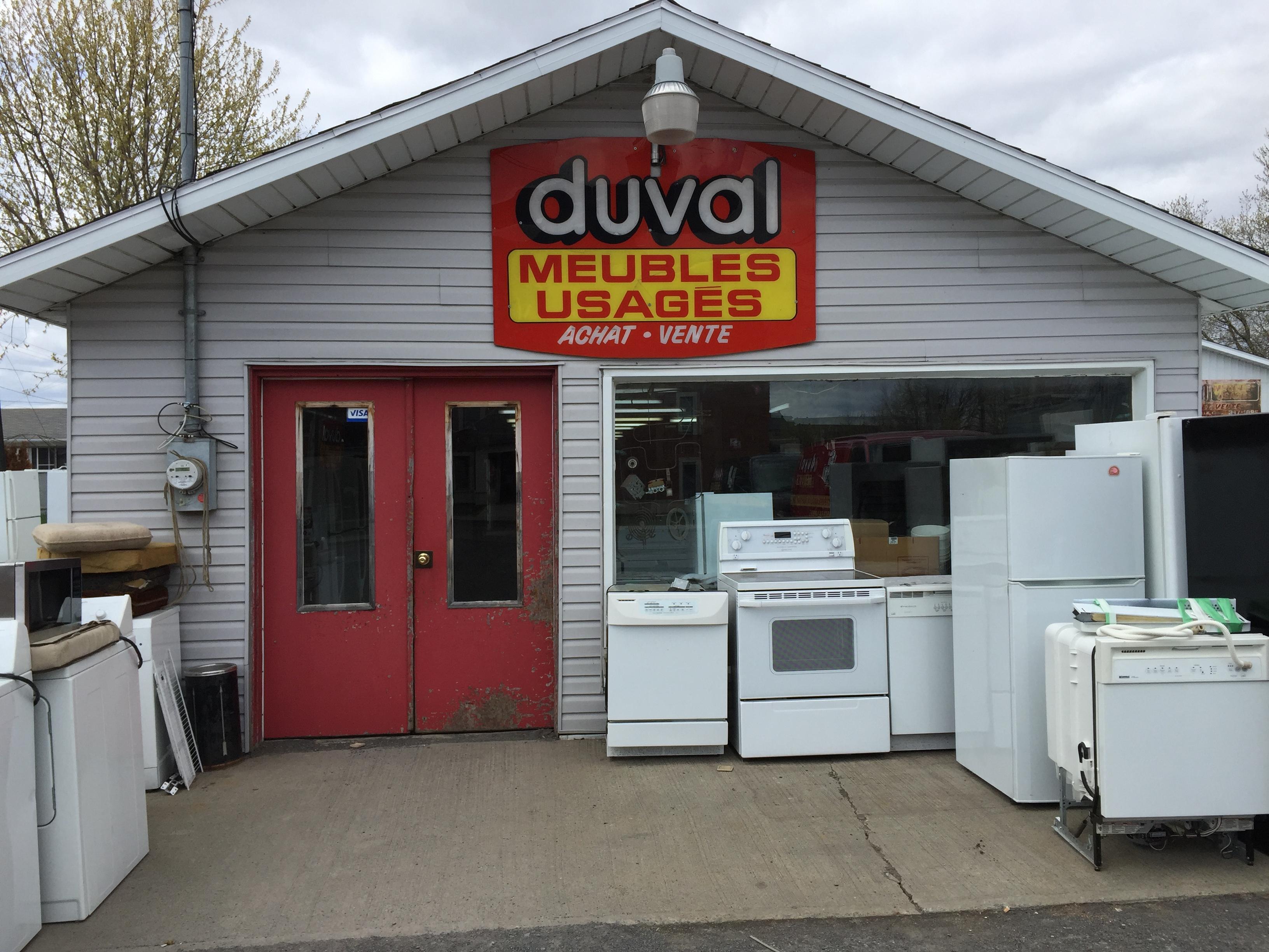 Duval meubles usages enr saint jean sur richelieu qc for Meuble usager montreal