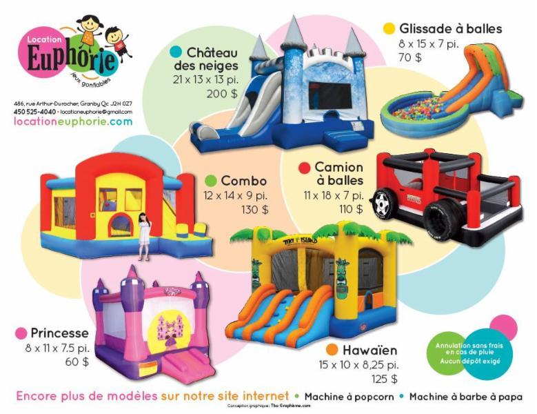 Grande variété de multi-activités et de jeux d'eau!