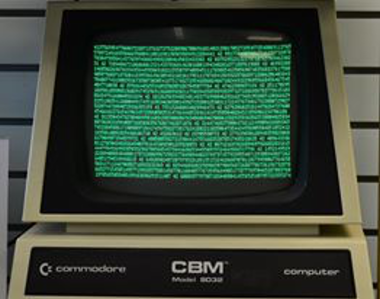 Visit our computer museum & check out this Commodore 8032!