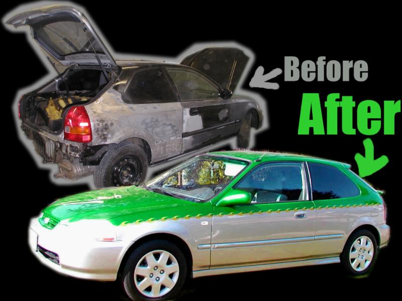 Car Paint Shop Mississauga