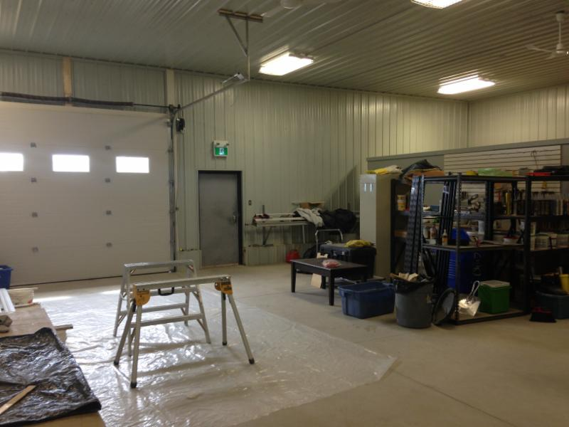 North Field Builders pre fabracation workshop