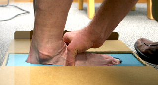 A controlled three dimensional casting of the foot is taken and all our custom made foot orthotics are hand crafted upon a plaster cast of your foot.