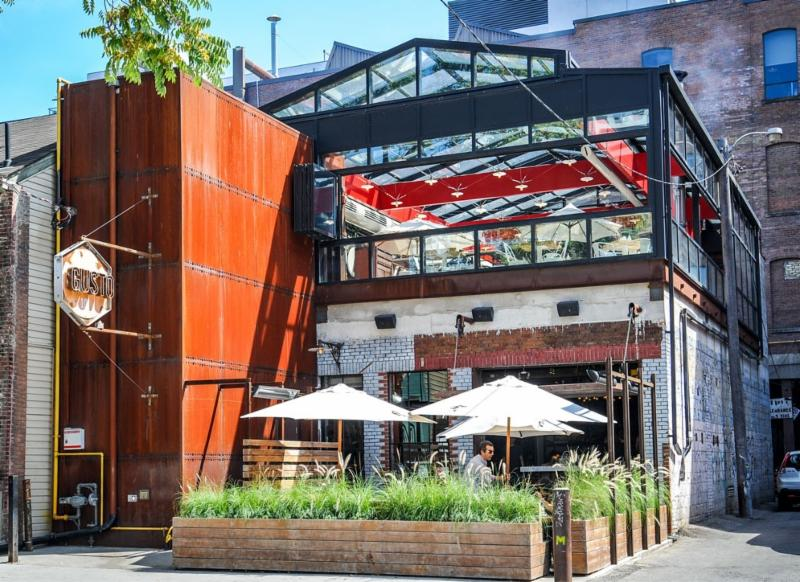 gusto 101 menu hours reservation 101 portland st. Black Bedroom Furniture Sets. Home Design Ideas