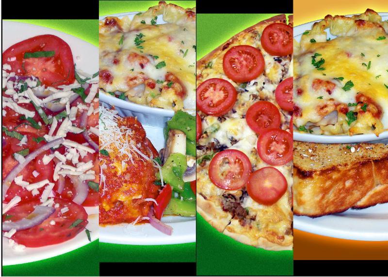 Tasty succulent comfort food - Salads, Pizza, Pasta, Chicken Parmigiana that You Deserve!