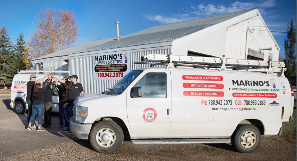 AAA Marino's Plumbing & Heating - Heating Contractors - 780-942-2073