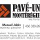 Pavé-uni Montérégie - Paysagistes et aménagement extérieur - 450-330-2863
