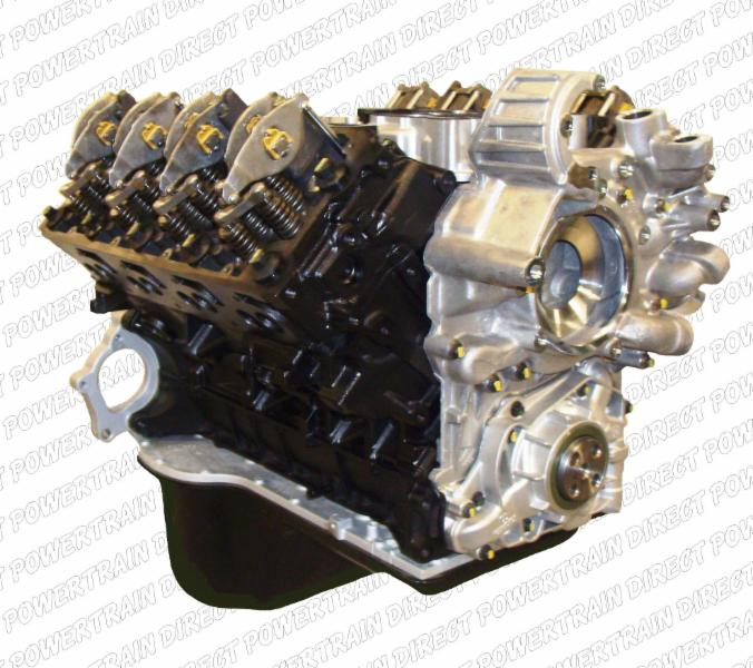 Ford Powerstroke 6.4 Diesel Engine     Item Number: 300-264-01     Year Range: 2008-2010     Our Ford 6.4 LT r engines include:      New Oil Cooler     New OEM Front Cover     OEM Rear Cover     Oil Pan     Gasket Set
