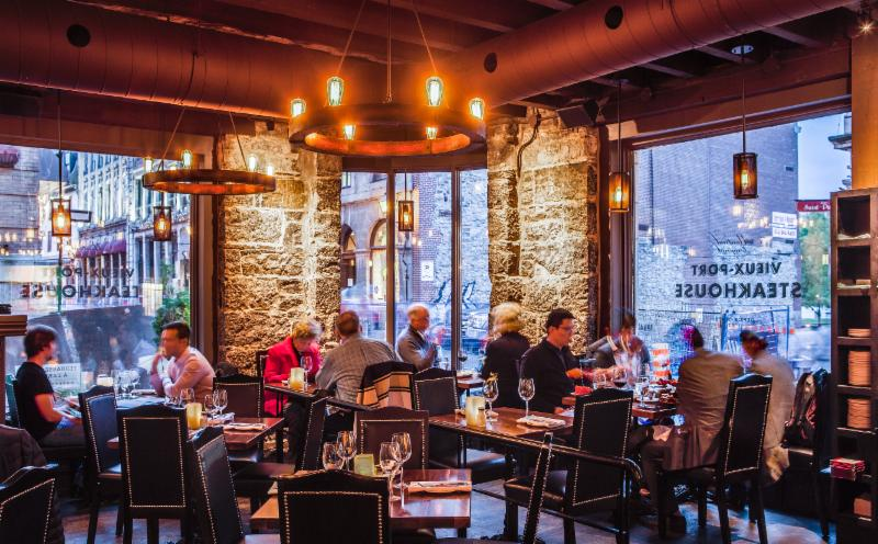 Restaurant Vieux Port Steakhouse Montreal