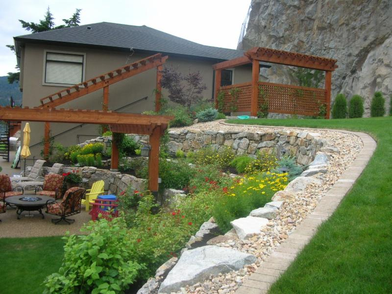 Earth effects landscaping opening hours 6040 butters for Landscaping rocks vernon bc