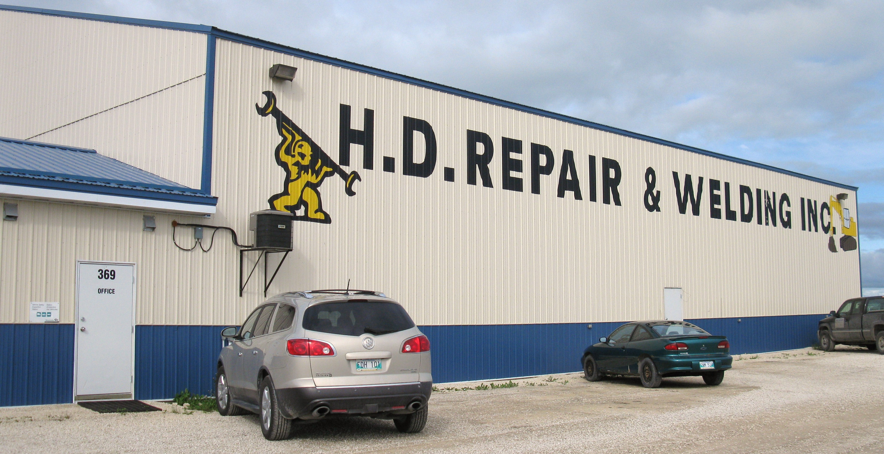 HD Repair & Welding Inc - Entrepreneurs en climatisation - 204-482-3209