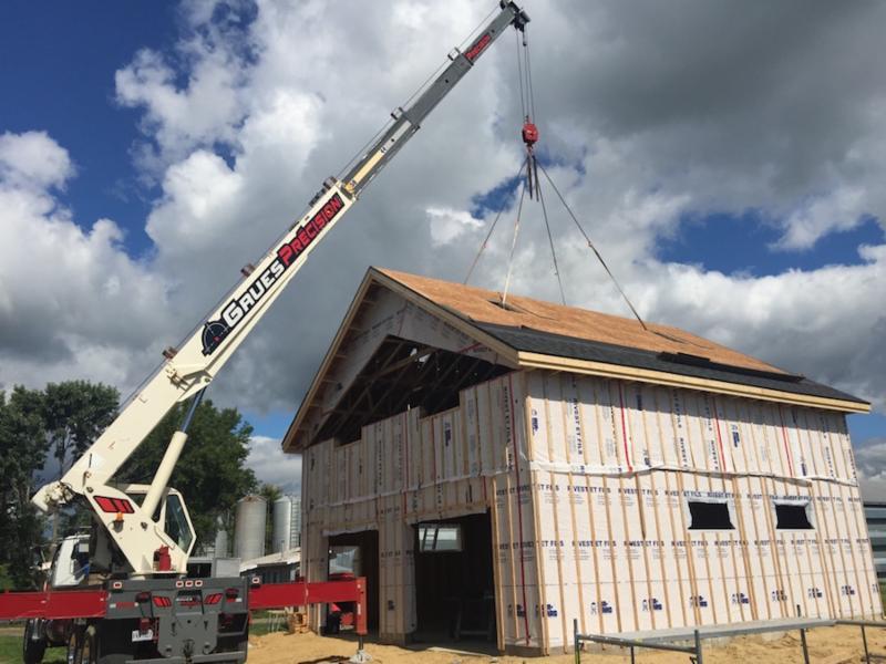 Telescopic Cranes Vancouver : Grues pr?cision inc saint jean de matha qc rue
