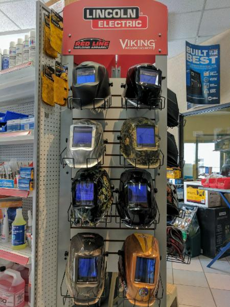 LincolnElectric, Viking, and Red Line Welding Helmets
