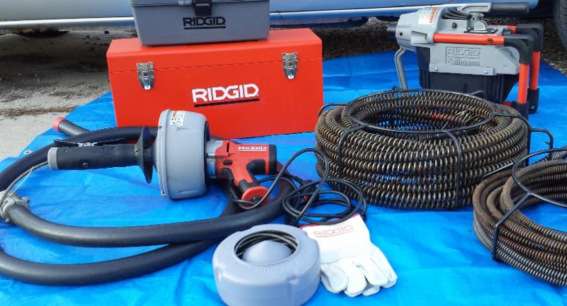 Ridgid tools and accessories are the only tools I use, to battle the most stubborn clogs and root issues.