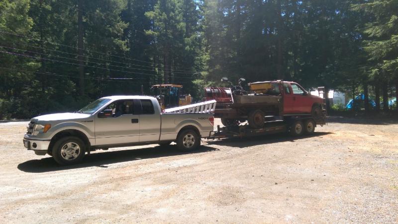 Trailer hauling and equipment transport