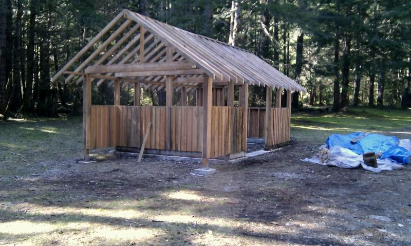 Sheds, fences and small construction projects