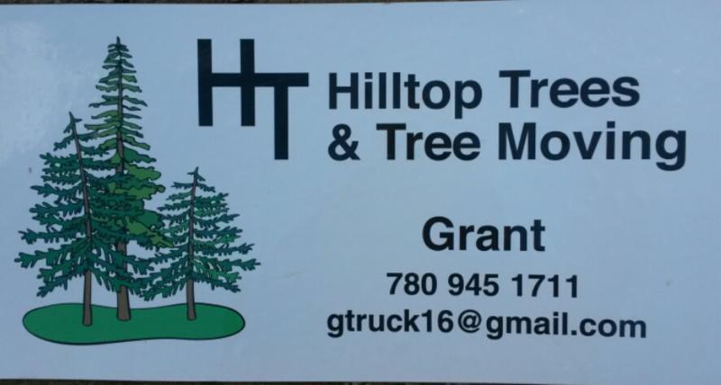 Hilltop Trees & Tree Moving St Albert (780)945-1711