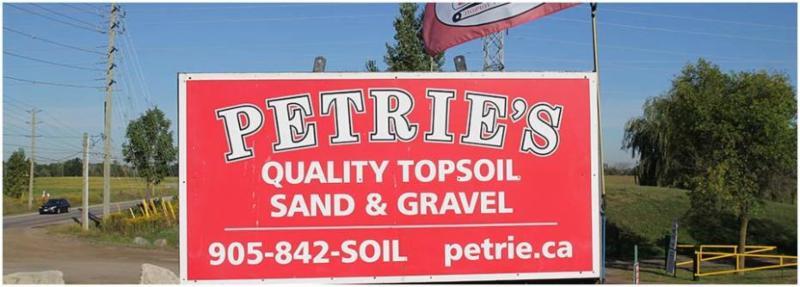 Petrie 39 s quality topsoil ltd milton on 4321 sixth for Quality topsoil