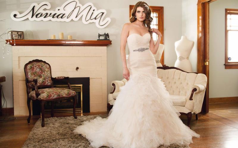 wedding dress novias