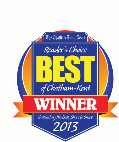 Winner of Chatham Kent's Best Wine Making Store four years running!