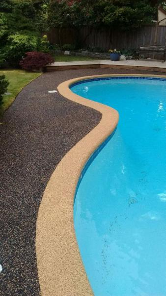 Vancouver Safety Surfacing     Tsawwassen Pool Deck