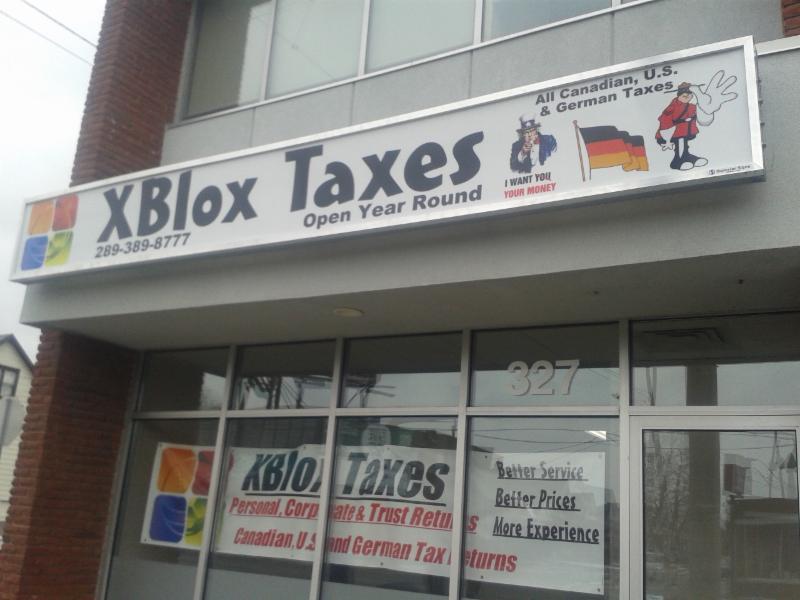XBlox Taxes - Opening Hours - Hamilton, ON