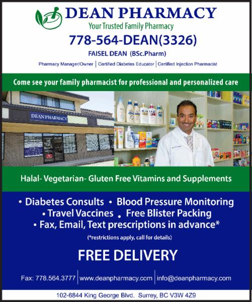 Travellers Health Clinic: Dean Pharmacy And Travel Clinic