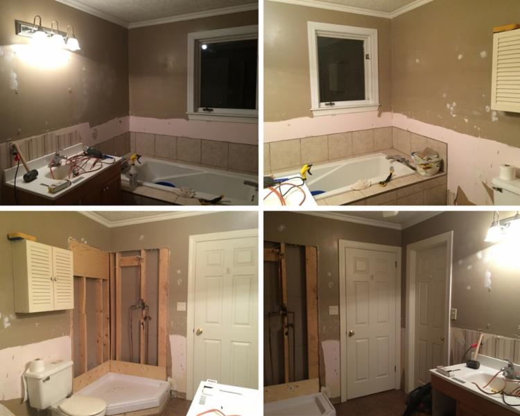 full bathroom reno - before