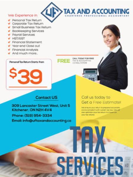 Uf Tax And Accounting Opening Hours 5 309 Lancaster St