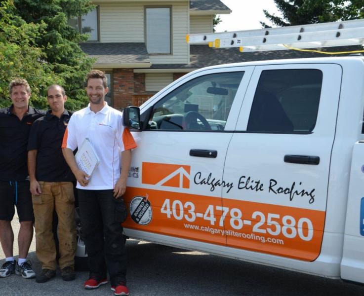 ... Photo Calgary Elite Roofing ...