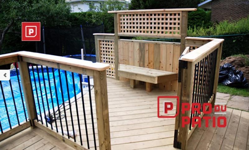 Pro du patio horaire d 39 ouverture qc for Balayeuse de piscine hors terre