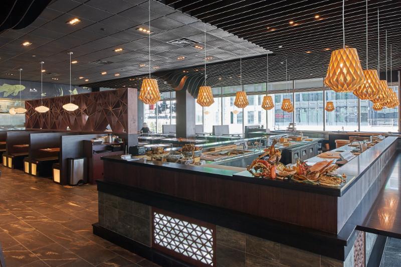 Kiu japanese restaurant menu hours reservation 169 for Asian cuisine hours