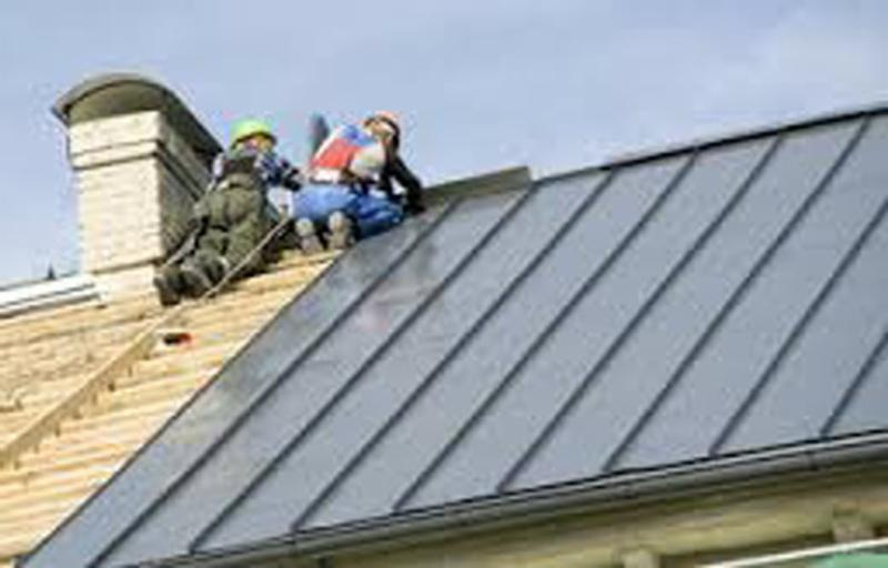 Metal Shingle Installation : Townline roofing opening hours joyce ave