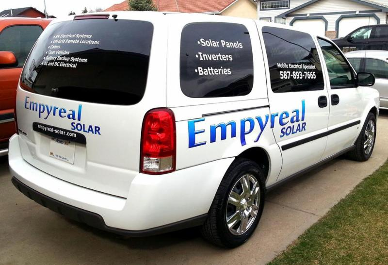 Empyreal Electric Inc. Mobile Service Van